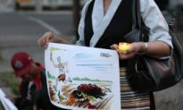 Tibet Supporters Hold Candlelight Vigil at Calgary Chinese Consulate