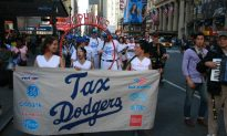 Low Tax Rates for Corporations, Wealthy Protested