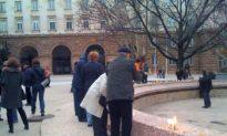 Vigil Condemns Bulgarian President