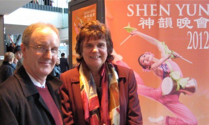 Ed and Darlene Neufeld attend Shen Yun Performing Arts at Queen Elizabeth Theatre. (Ryan Moffatt/The Epoch Times)