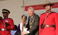 The Queen's Baton Comes to Toronto