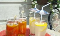 Cool off with Lemonade and Iced Tea