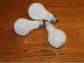 The European Union is banning incandescent light bulbs. (James Fish/The Epoch Times)
