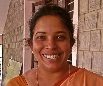 Mary Regi, Bangalore, India