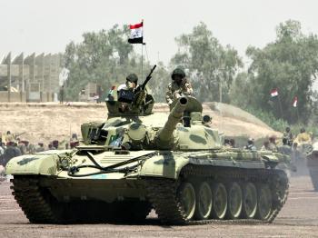 Iraqis Rejoice as U.S. Troops Leave Baghdad