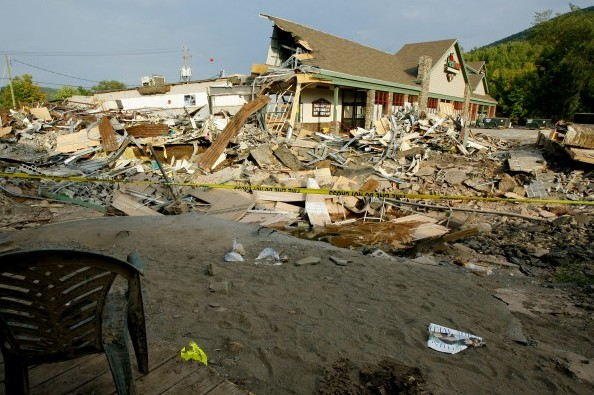 The town of Margaretville, New York, is one of 13 communities receiving grants for damage during Hurricane Irene and Tropical Storm Lee. (Monika Graff/Getty Images)