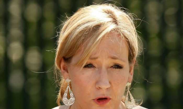 J.K. Rowling. (Chip Somodevilla/Getty Images)