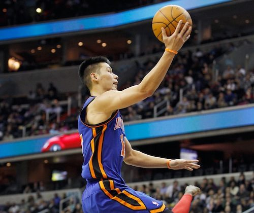 Jeremy Lin has led the Knicks to three straight wins. (Rob Carr/Getty Images)