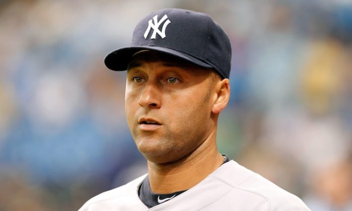 Derek Jeter and the Yankees are 0-3 for the first time since 1998, when they went 114-48. (J. Meric/Getty Images)