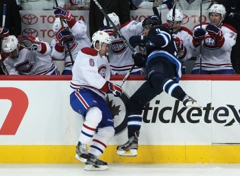 Winnipeg Jets Celebration Spoiled By Montreal Canadiens