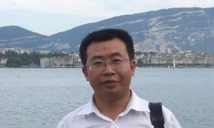 Beijing human rights lawyer Jiang Tianyong. (The Epoch Times)