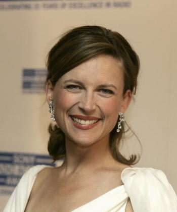 A Contestant, newsreader Katie Derham.  (Jo Hale/Getty Images)