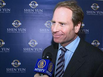 Kent Swig at Lincoln Center's David H. Koch Theater following the Premiere of Shen Yun Performing Arts on Jan. 6, 2011. (Courtesy of NTD Television)