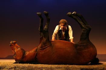 Stephen Rea in Sam Shepard's Kicking a Dead Horse.
