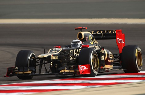 Kimi Raikkonen scored second in only his fourth race back in F1. (Clive Mason/Getty Images)