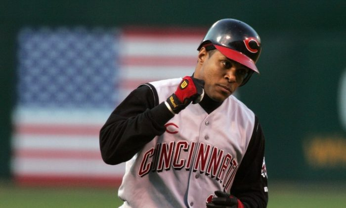 Barry Larkin was elected to the Baseball Hall of Fame on Monday. (David Paul Morris/Getty Images)