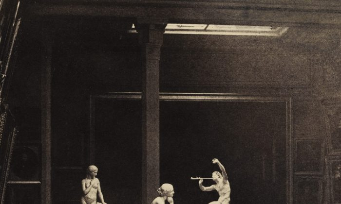 Gustave Le Gray captures the famous Paris Salon of 1852 in an album of prints. (Courtesy of Sotheby's)