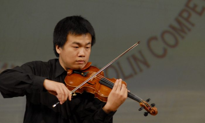 Contestant Tsai Chen-Han (Daibing/Epoch Times) ()