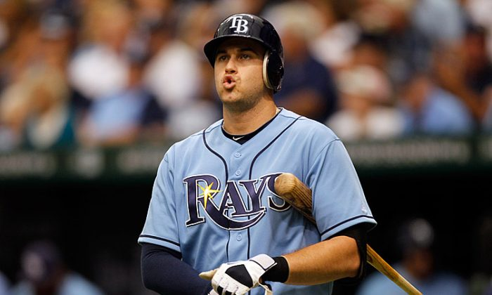 Longoria was hitting .329 this season before the injury. (Mike Ehrmann/Getty Images)