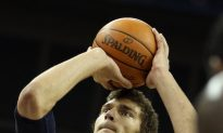 Nets Lopez Out Three Weeks With Ankle Sprain