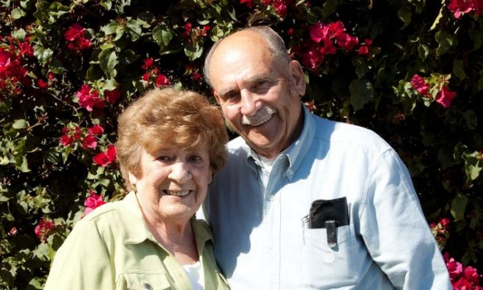 Bill and Virginia Killingsworth were married on Jan. 26, 1952 in Pasadena, Calif. (Courtesy of Bill and Virginia Killingsworth)
