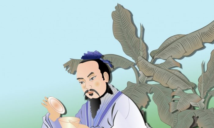 Lu Yu, the Sage of Tea. (Catherine Chang/The Epoch Times)