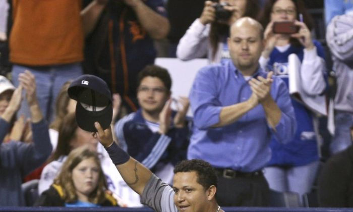 Miguel Cabrera became the first triple crown winner since 1967. (Ed Zurga/Getty Images)