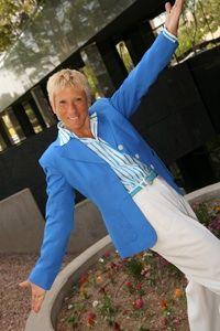 Lynn Petronella enjoying her home in Scottsdale, Ariz. (Courtesy of Lynn Petronella)