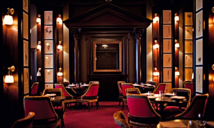 The NoMad dining room. (Courtesy of The NoMad Hotel)
