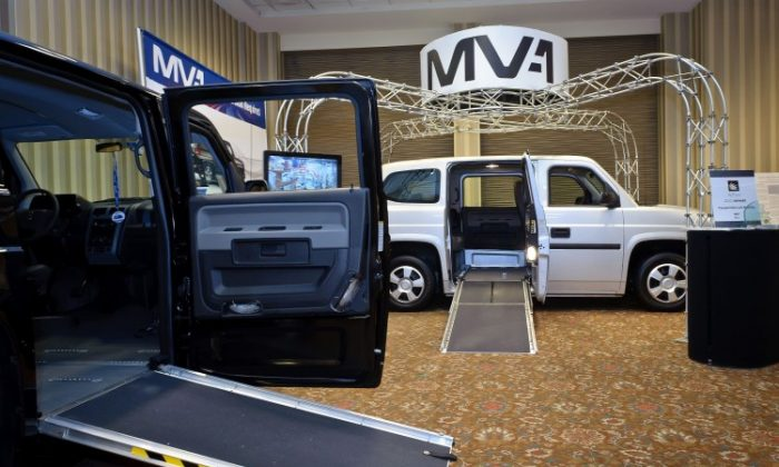 The MV-1 is the world's first vehicle designed and built from the ground up at the factory to meet the needs of wheelchair users and their caregivers. (MV-1 Canada)