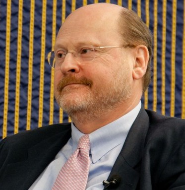 MTA Chairman and CEO Joseph Lhota at a panel discussion of city infrastructure at Baruch College on Feb. 23. (Tara MacIsaac/The Epoch Times)