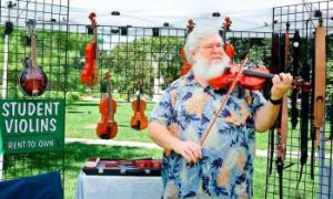In Pictures: Fiddling and Picking Competition