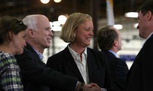 McCain, Obama Seek Boardroom Approval