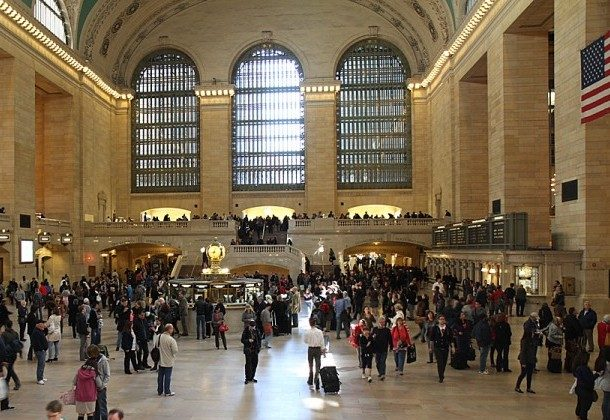 Grand Central Station, pictured here, is one of the places where Land Lease (US) Construction LMB Inc. completed construction. The firm has admitted to long term fraud, including overbilling hours (Kristen Meriwether/The Epoch Times)