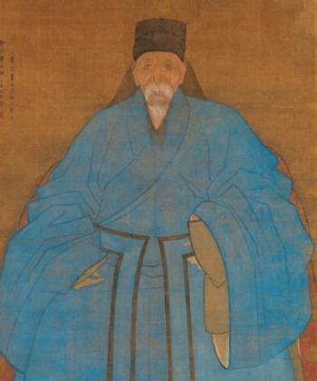 """""""Portrait of the Artist`s Great Grand Uncle Yizhi at the Age of Eighty-five"""" (circa 1561-1621) by Zude presents the trend toward individualism of the late Ming Dynasty.  ((Metropolitan Museum of Art)"""