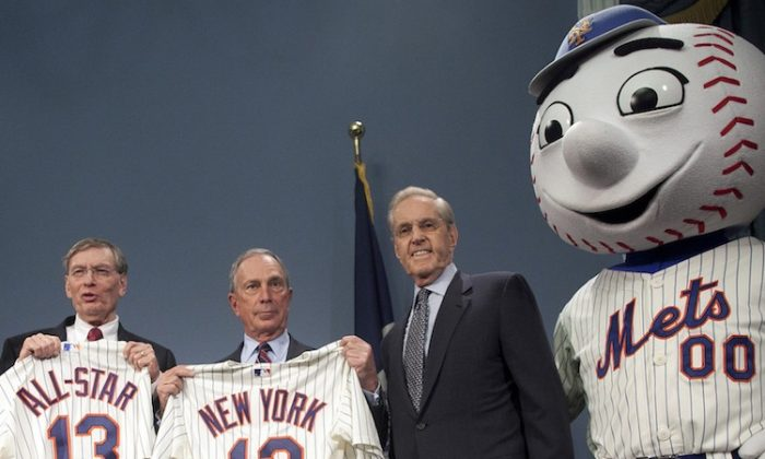 The Mets will host an All-Star game for the second time in their history. (Allison Joyce/Getty Images)