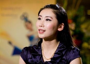Divine Performing Arts lead dancer and choreographer Michelle Ren.  (The Epoch Times)