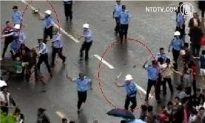 Protests in Chongqing Greeted With Batons