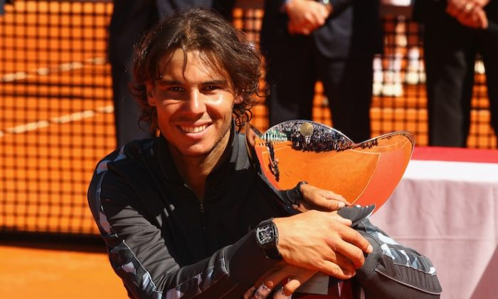 Rafael Nadal wins his eighth straight title at Monte-Carlo. (Clive Brunskill/Getty Images)
