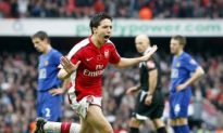 Nasri Shines as Gunners Shoot Down United