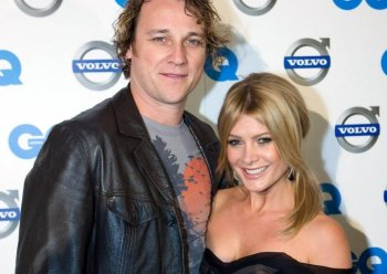 Cameron McGlinchey and Natalie Bassingthwaighte arrive for the 2008 Volvo GQ Men of the Year Awards at Comme on September 30, 2008 in Melbourne, Australia. (Kane Hibberd/Getty ImagesGettys)