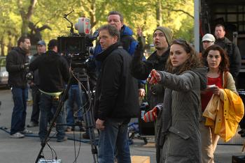 MULTI-TALENTED: Natalie Portman stars in a segment and also writes and directs a vignette in the new film, 'New York, I Love You,' a collaboration of storytelling set in New York. (Vivendi Entertainment)
