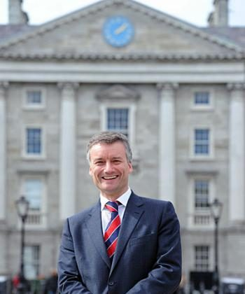 Professor of Bio-Engineering and Newly elected Provost at Trinity College Dublin, Professor Patrick Prendergast (Trinity College Dublin)