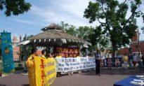 Edmonton Rally Marks 10 Years of Falun Gong Persecution