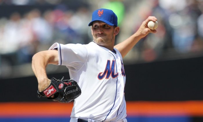 Jonathon Niese has the Mets off to their best start (3-0) since 2007 when they went 88-74. NICK LAHAM/GETTY IMAGES