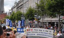 Dublin Commemorates 13 Years of Persecution of Falun Gong in China