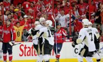 Penguins Edge Caps 4—3 in Overtime