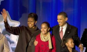 President Offers Holiday Message of Unity at National Christmas Tree Lighting Celebration