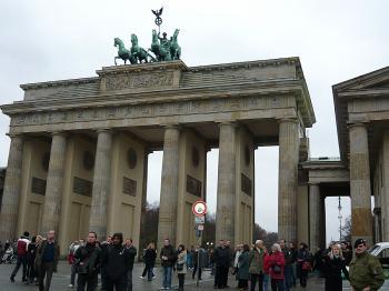 The symbol of Berlin, The Brandenburg Gate  (Ekaterina Popova/The Epoch Times)