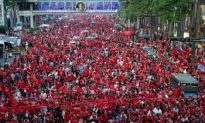 Biggest Red Shirt Anti-Government Rally in Bangkok Since May Crackdown
